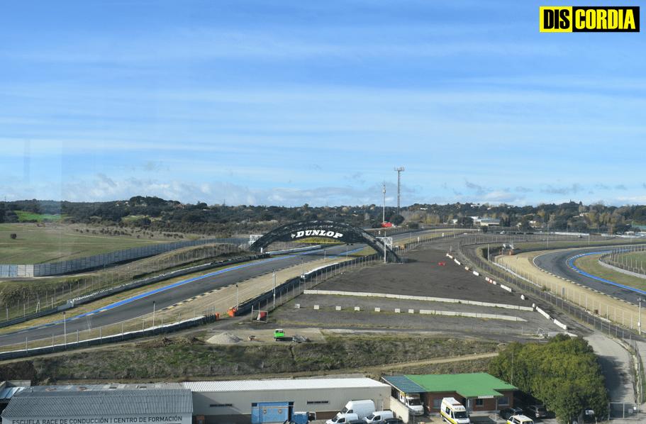 Vistas del circuito desde la torre de control. PAULA ROBAINA (DISCORDIA)