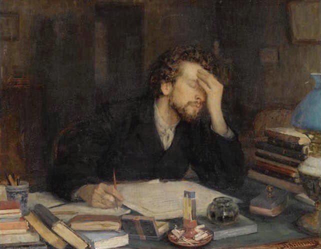 El miedo a escribir