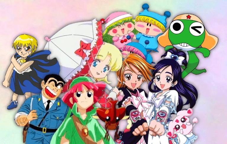 Animes de la infancia: edición grandes olvidados