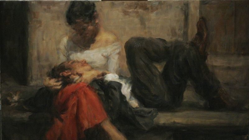 Love Painting by Ron Hicks
