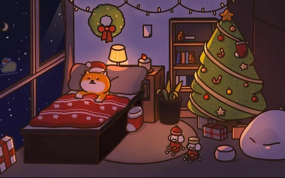 Ilustración navideña de Acornzzi.