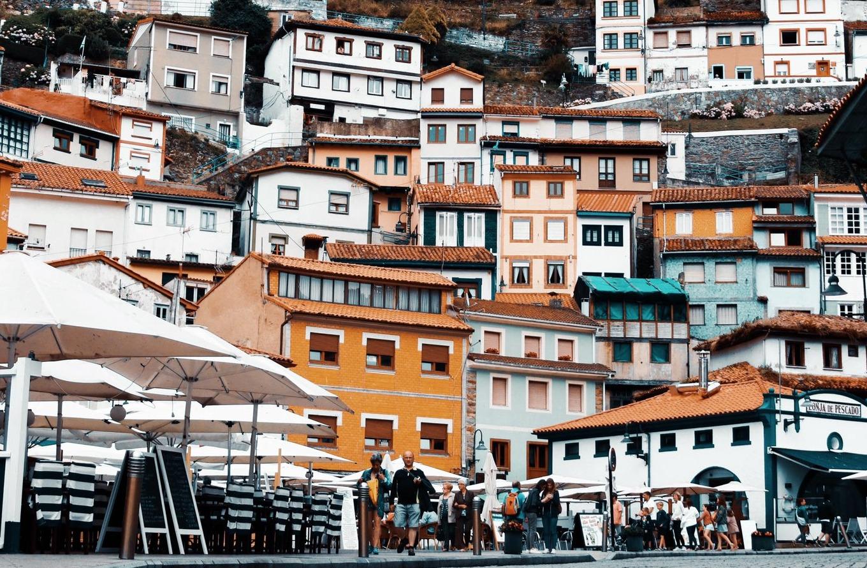 Fotografía de Cudillero (Asturias) por David Olivas (Twitter: @davidolivas)