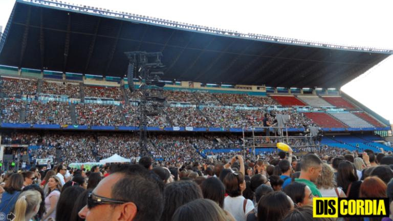 One Direction y la maldición de los estadios