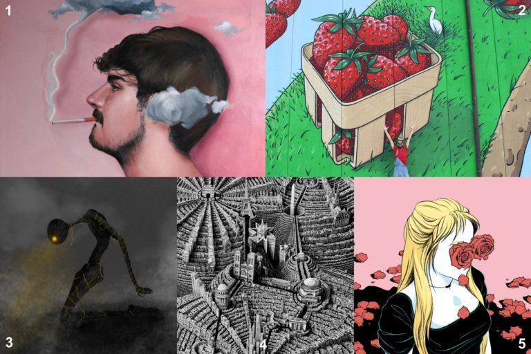 Descubriendo artistas #2: dibujo, pintura y grafiti